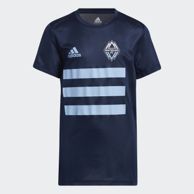 Youth Soccer Blue Vancouver Whitecaps FC Creator Tee