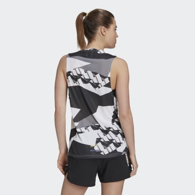 Terrex Parley Agravic Trail Running Tank Top Bialy