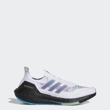 ผู้ชาย วิ่ง สีขาว รองเท้า Ultraboost 21