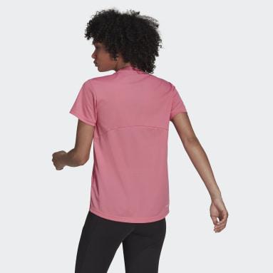 Remera AEROREADY Designed 2 Move Sport Rosa Mujer Training