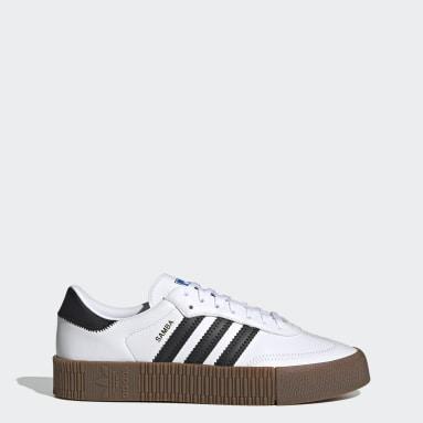 Sapatos SAMBAROSE Branco Mulher Originals
