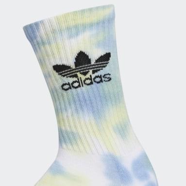 Men's Originals Multicolor Colorwash Crew Socks 3 Pairs