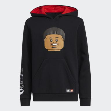 Youth Basketball Black adidas x LEGO® Pullover Damian Lillard
