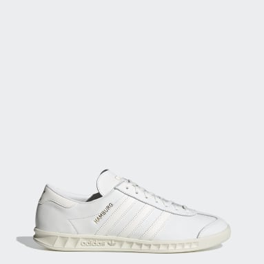Men Originals White Hamburg Shoes