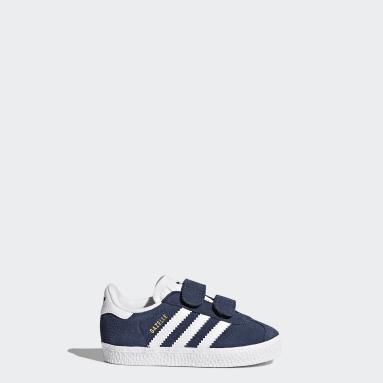 Sapatos Gazelle Azul Rapazes Originals