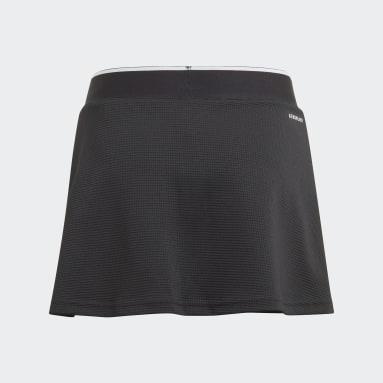 Falda Club Negro Niña Tennis
