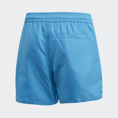 Short de bain Classic Badge of Sport Turquoise Garçons Natation