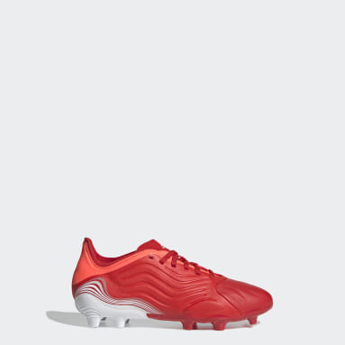 Kids Football Red Copa Sense.1 Firm Ground Boots