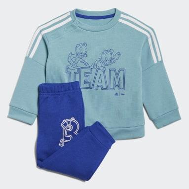 бирюзовый Комплект: джемпер и брюки adidas x Disney Huey Dewey Louie
