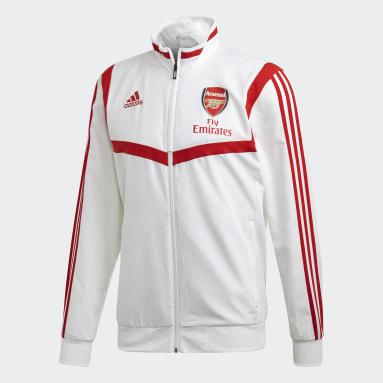 Giacca da rappresentanza Arsenal Bianco Uomo Calcio