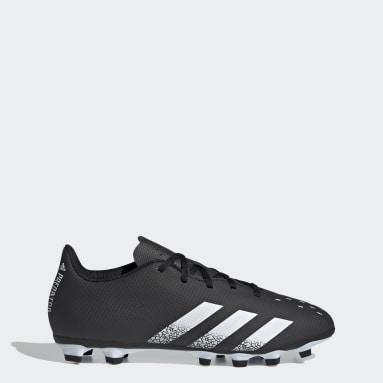 Men Football Black Predator Freak.4 Flexible Ground Boots