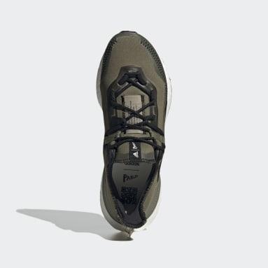 วิ่ง สีเขียว รองเท้า Ultraboost 21 x Parley