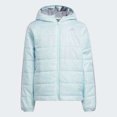 Youth Training Green Cozy Puffer Jacket
