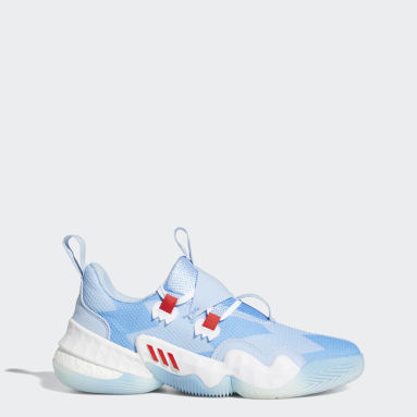 Chaussure Trae Young 1 Bleu Hommes Basketball