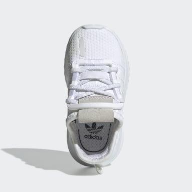 Tenis U_Path Run (UNISEX) Blanco Niño Originals