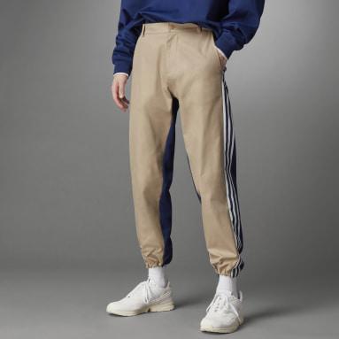 Muži Originals hnědá Sportovní kalhoty Blue Version Chino
