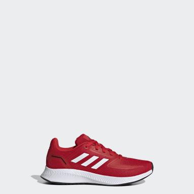 Tenis Runfalcon 2.0 Rojo Niño Running