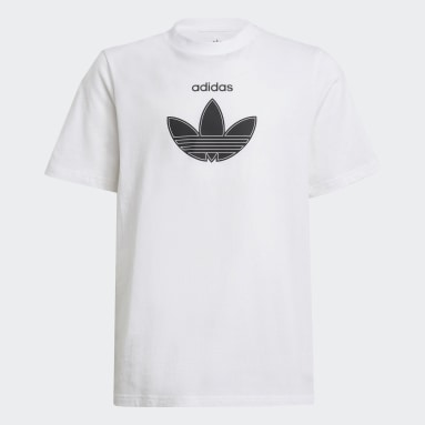 Youth Originals White adidas SPRT Collection Tee