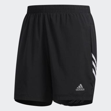 Shorts para correr Run It 3 Tiras Negro Hombre Running