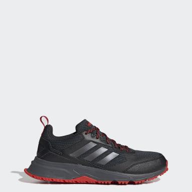 Men Running Black Rockadia Trail 3.0 Shoes