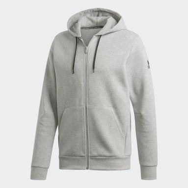 Herr Sportswear Grå M MH Plain FZ