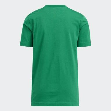 Youth Basketball Green adidas x LEGO® Tee Donovan Mitchell
