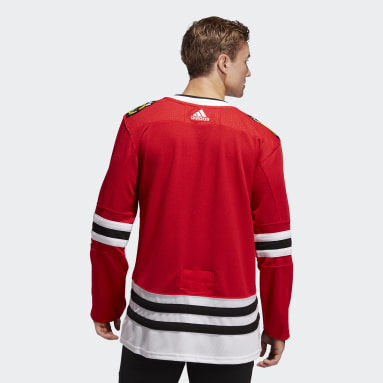 Men's Hockey Red Chicago Blackhawks Home Authentic Pro Jersey