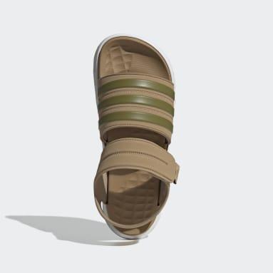 ว่ายน้ำ สีน้ำตาล รองเท้าแตะ Duramo SL