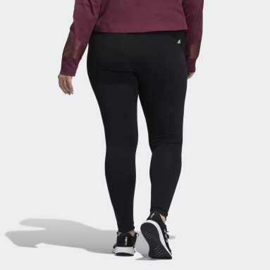 Women's Sportswear Black Holiday Graphic Tights (Plus Size)