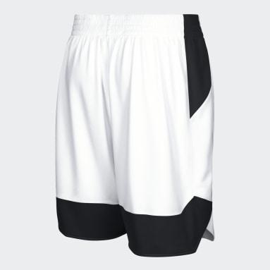Shorts Crazy Explosive Blanco Mujer Basketball