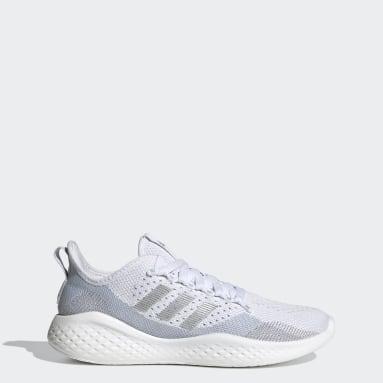 Dames Hardlopen wit Fluidflow 2.0 Schoenen