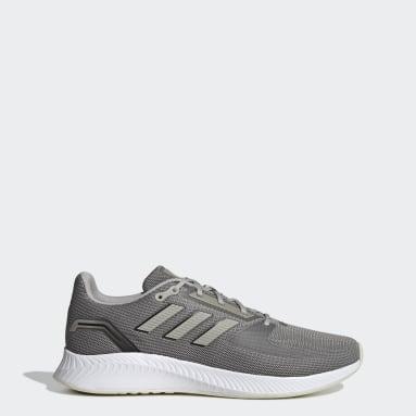 Men Running Grey Runfalcon 2.0 Shoes