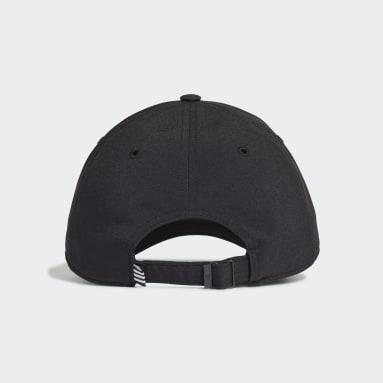 Lightweight Embroidered Baseball Caps Svart
