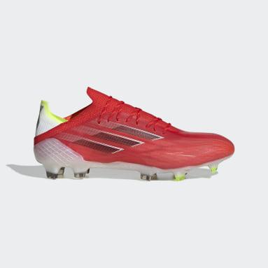 Futbol Kırmızı X Speedflow.1 Çim Saha Kramponu
