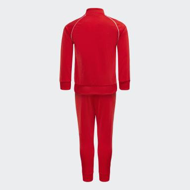 Sudadera Adicolor SST Rojo Niño Originals