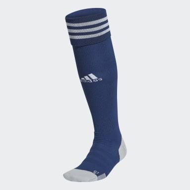 Voetbal Blauw AdiSocks Kniesokken