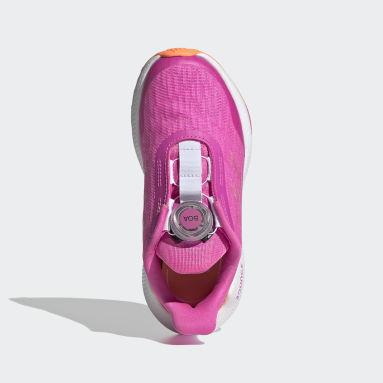 Kids Running Pink EQ Run Boa Shoes