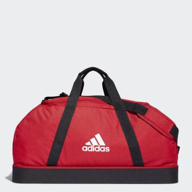 Fodbold Rød Tiro Primegreen Bottom Compartment sportstaske, large