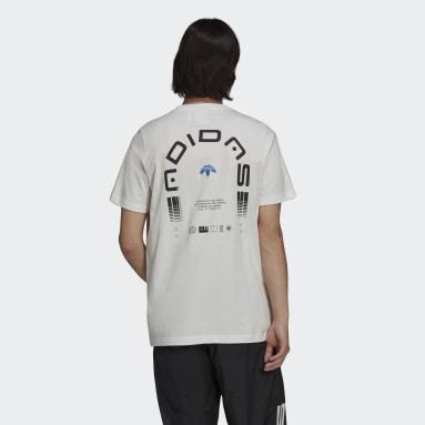 Männer Originals Graphics Symbol T-Shirt Weiß
