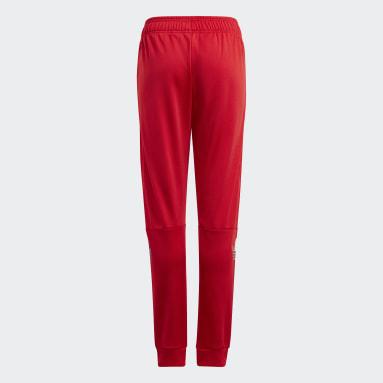 Pants Adicolor Rojo Niño Originals