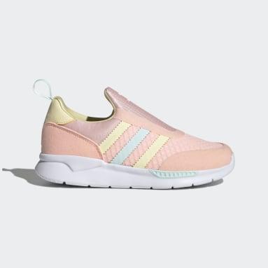Children Originals Pink ZX 360 Shoes