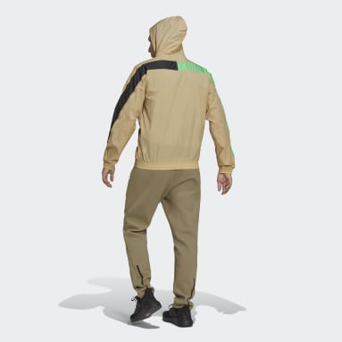M WND MOTHER Beige Hommes Sportswear