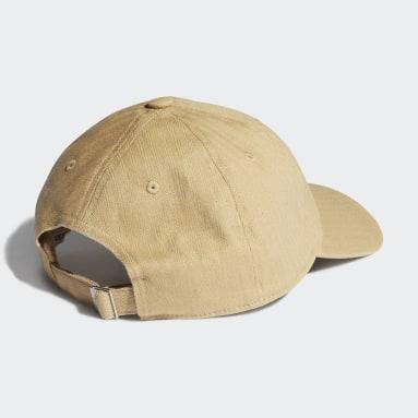 Originals สีเบจ หมวกเบสบอล Adicolor Vintage
