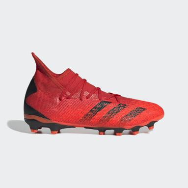 Scarpe da calcio Predator Freak.3 Multiground Rosso Uomo Calcio