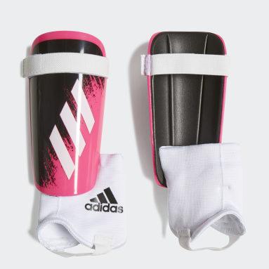 Youth Soccer Pink X 20 Match Shin Guards