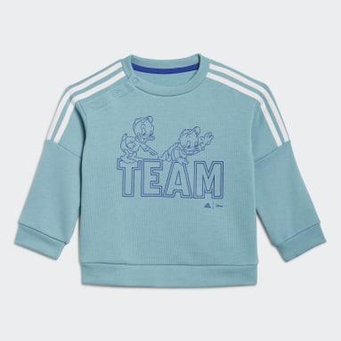 Børn Sportswear Grøn adidas x Disney Huey Dewey Louie joggingdragt