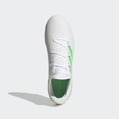 Football White Gamemode Knit Firm-Ground Boots