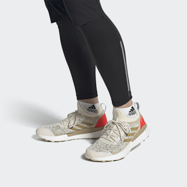 Men's TERREX White Terrex Two Ultra Primeblue Trail Running Shoes
