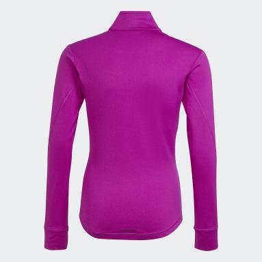 фиолетовый Джемпер AEROREADY Warming Reflective