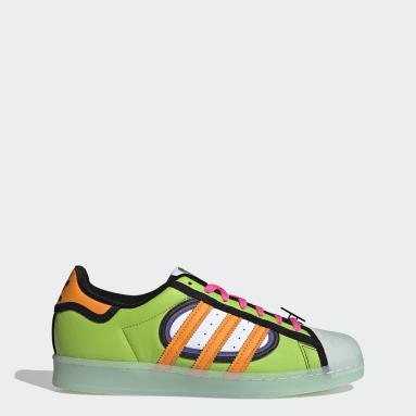 Originals Green Superstar The Simpsons Squishee Shoes